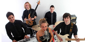 rock and pop party band for hire